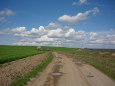 Drumul lui Jos, pe jos, de la Timisoara la Stanciova. The walking path of Jos from Timisoara to Stanciova