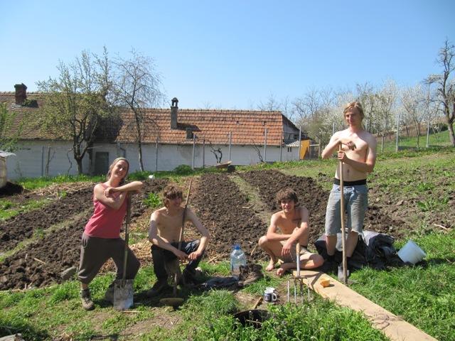 Great digging team, april 2013