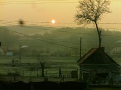 November morning in Stanciova