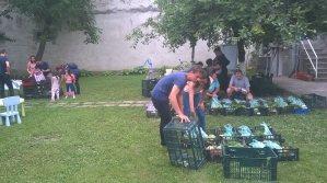 Solidaritate cu micii producatori, Dragos si Teodora fac parte din ASAT